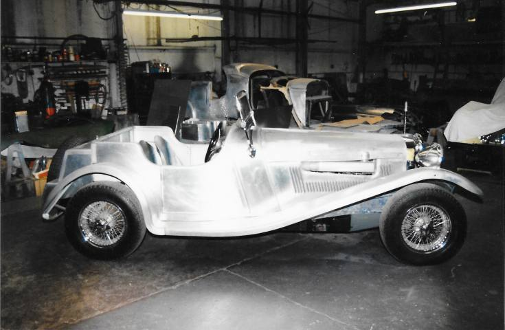 Image of a Jaguar special made to customers requirements